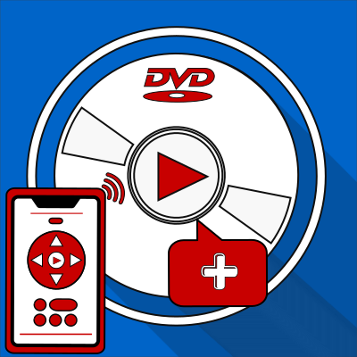 DVD Player+ logo