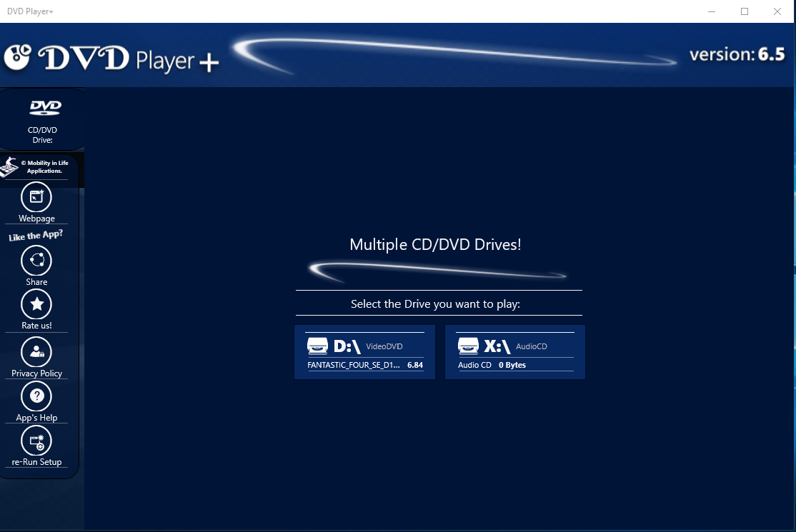 Screenshot - Mulitiple Optical Drives on the PC